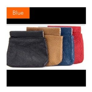 🎉3/$21🎉 Blue Squeeze Coin Pouch
